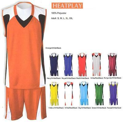 16 Basketball Team Shirt Jersey Uniform CEN#2111 Wholesale $22.00/kit Save $160