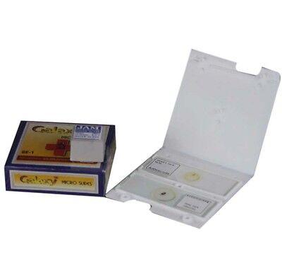Biology Light Microscope Set Of 50 Blank 50 Cover Slips 2 Prepared Slides Kit