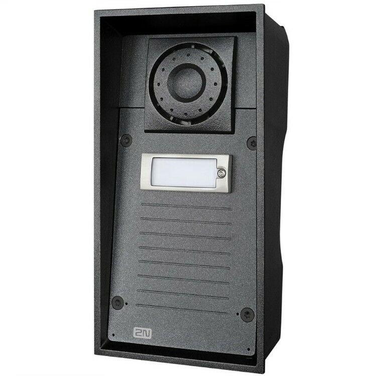 2N Helios IP Force 01336-001 1-Button Intercom System access control IP69K IK10