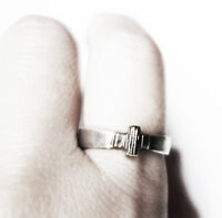 Unique Cross Ring, Silver Cross Ring by J Lim
