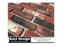 Red Blend Brick Slips/ Slip Bricks / Brick Cladding