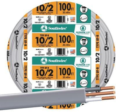100 102 Wire Outdoor Ufb Branch Circuit Cable Underground Feeder Direct Burial