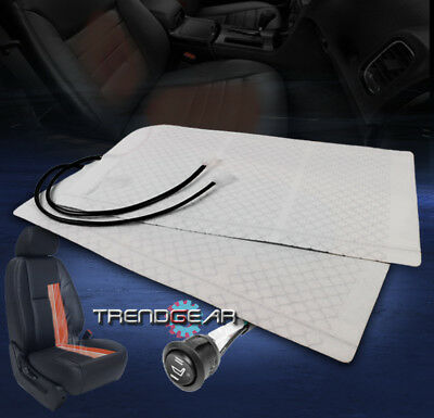 HEATED SEAT HEATER PADS +ROUND HI/LOW SWITCH INTREPID RAM EXCURSION F150 MUSTANG
