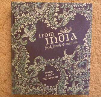 From India: Food, Family and Tradition COOKBOOK.  MINT CONDITION!