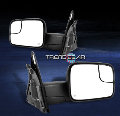 2002-2008 RAM 1500/2003-2009 2500 3500 TOWING TRAILER EXTENDABLE POWER MIRRORS