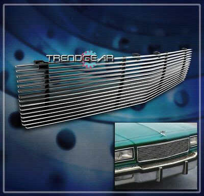 1988 1989 1990 Grille - 1986-1990 CHEVY CAPRICE FRONT UPPER BUMPER BILLET GRILLE GRILL 1987 1988 1989