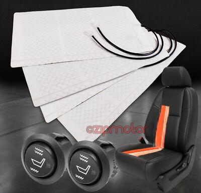 2X UNIVERSAL HEATED SEAT HEATER PAD W/HI/LOW SWITCH DURANGO NEON EXPLORER FUSION