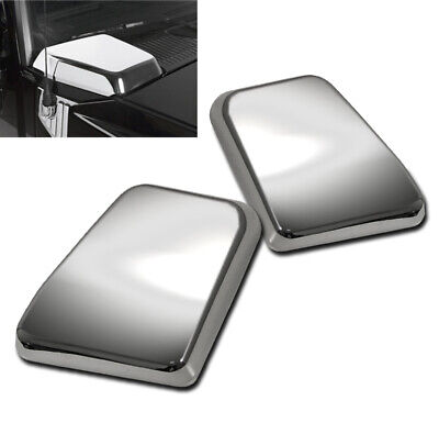2003-2009 HUMMER H2 FRONT HOOD SIDE AIR INTAKE VENTS COVERS CHROME TRIM SET PAIR