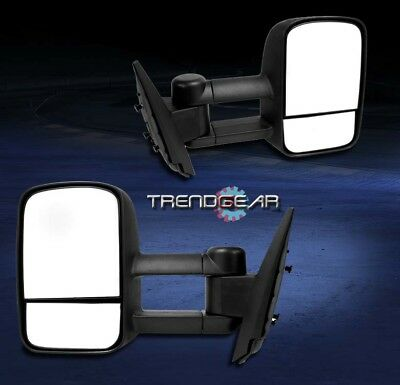 1997-2003 FORD F-150 PICKUP TOWING TRAILER TELESCOPING POWER MIRRORS LEFT+RIGHT