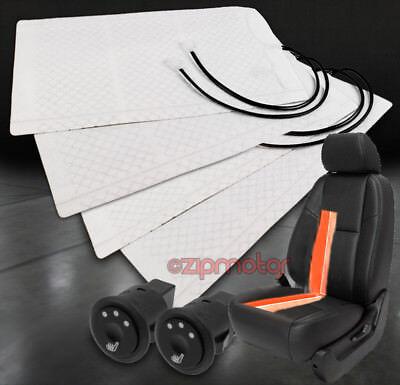 2X HEATED SEAT HEATER PAD +HI/MID/LOW SWITCH DURANGO NEON BRONCO EXPLORER FUSION