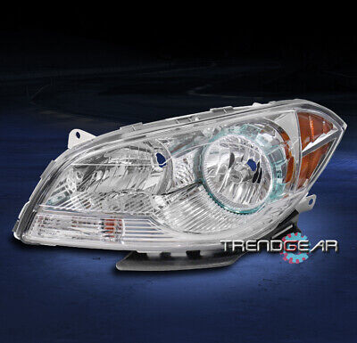 FOR 2008-2012 CHEVY MALIBU REPLACEMENT CLEAR HEADLIGHT HEADLAMP DRIVER LEFT SIDE