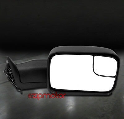 94-01 DODGE RAM 1500 2500 3500 TOWING EXTENDABLE MANUAL MIRROR PASSENGER RIGHT