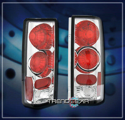 1985-2001 GMC SAFARI CHEVY ASTRO VAN ALTEZZA TAIL LIGHT CHROME SLT SLE SL GT 3DR