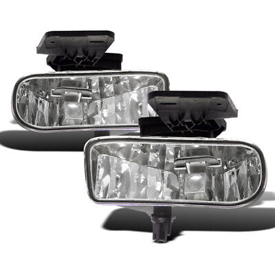 1999-02 GMC SIERRA TRUCK/2000-06 YUKON XL CHROME LOWER BUMPER DRIVING FOG LIGHTS