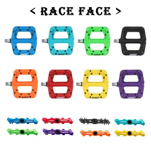 """Race Face Chester Composite Platform Mountain Bike Pedals 9/16""""   < Multicolor >"""