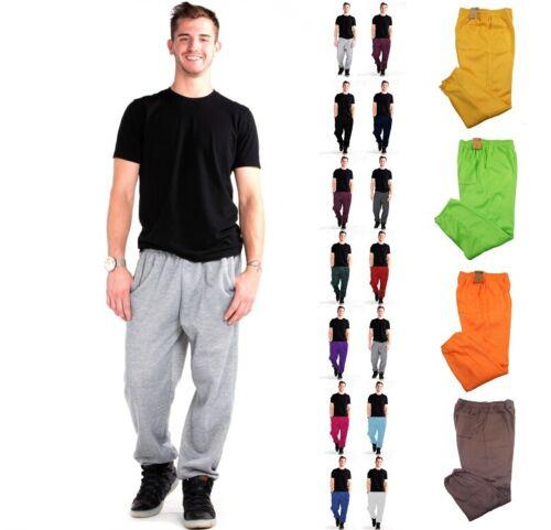 Men Sweatpants Fleece Active Workout Gym Sport 3 Pocket  Sweat Pants Size S-5xl