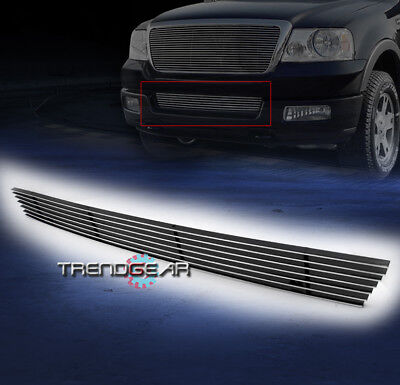 2006 2007 2008 FORD F-150 PICKUP FRONT BUMPER LOWER BILLET GRILLE INSERT OVERLAY