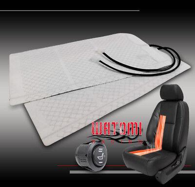 HEATED SEAT HEATER PADS KIT W/ROUND HI/LOW SWITCH DURANGO BRONCO EXPLORER FUSION