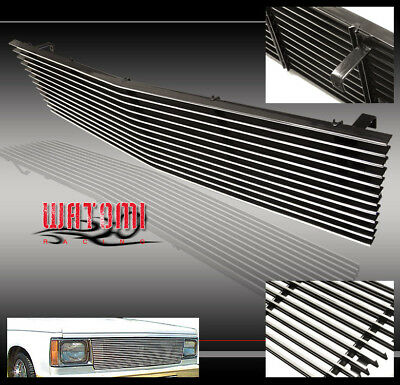 82-90 CHEVY/GMC S10 BLAZER S15 JIMMY FRONT UPPER BILLET GRILLE GRILL 86 87 88 89 82 Gmc S15 Jimmy