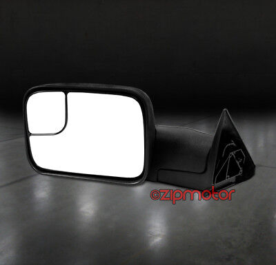 94-97 DODGE RAM 1500 2500 3500 TOWING TELESCOPING POWER MIRROR DRIVER LH
