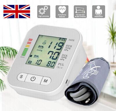 Digital Automatic Arm Blood Pressure Monitor Cuff BP Machine Home Medical Care