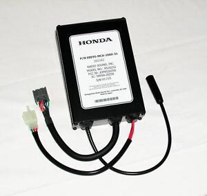 CB radio kit pour GL1800 2012   08E95-MCA-100B