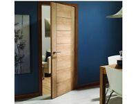 New Oak Palermo door