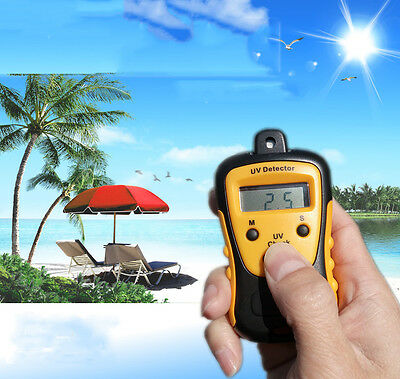 Uv Strength Tester Meter Photometer Uv Detector Handheld Lcd Light 1000u Wcm2