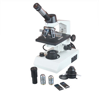 2500x Profesional Live Cell Sperm Medical Compound Phase Contrast Led Microscope