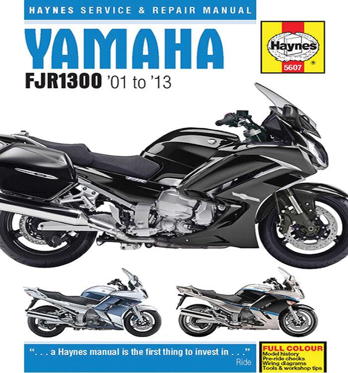 Haynes 5607 Yamaha FJR1300 2001 - 2013 Motorcycle Workshop Manual Book