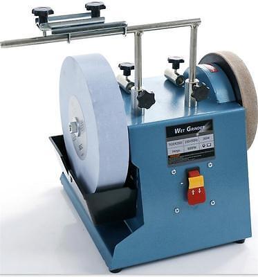 Electric Knife Sharpener Water-cooled Grinder Low Speed Grinding Machine 220v Y