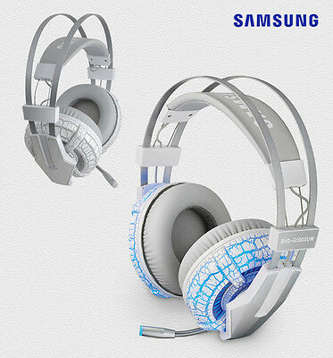 Samsung G1000UW Virtual 7.1CH USB PC Gaming Headphone Headset Earphones with MIC