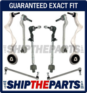 BMW E90 FRONT CONTROL ARM BALL JOINT SWAY BAR LINKS TIE RODS SUSPENSION KIT