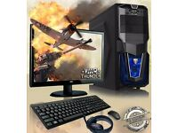 Vibox Gaming PC Package Computer - Fast3.6 GHz 16GB 1TB, Radeon Graphics