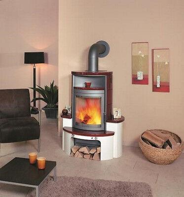 haas sohn kaminofen heizofen kufstein mit holzfach perl schwarz 5 kw 9002742457228 ebay. Black Bedroom Furniture Sets. Home Design Ideas