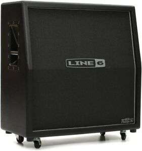 Line 6 4x12 Sland Cab loaded with Celestion Vintage 30's