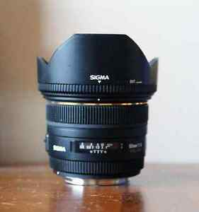 SIGMA 50mm F1.4 EX DG HSM Lens for Canon