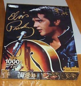 Elvis jigsaw puzzle box (large) – ONLY $5 London Ontario image 1