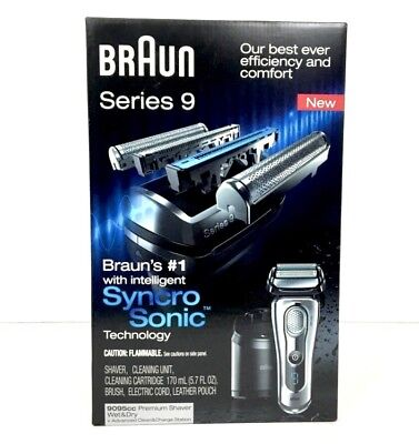 Braun Series 9 - 9095cc shaver  with Clean&Charge Station
