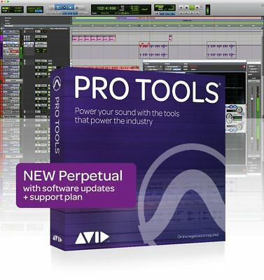 Avid Pro Tools 12 2018 2019 Perpetual License Activation w/ 1 yr upgrade plan Tools 12