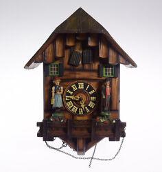 Black Forest Clock CUCKOO CLOCK VINTAGE TRADITIONAL GERMAN MUSICAL O... Lot 8243