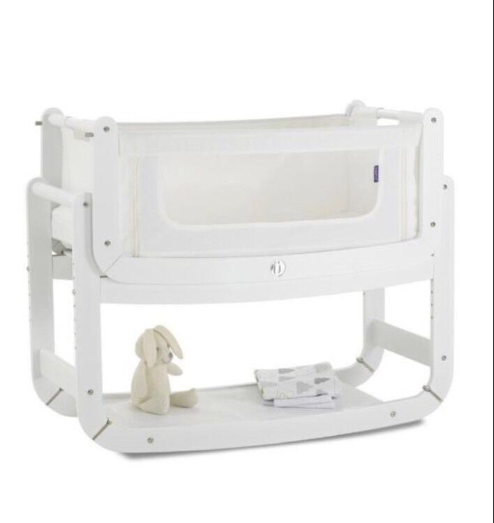 snuzpod white baby crib safe co sleeping cot - White Baby Crib