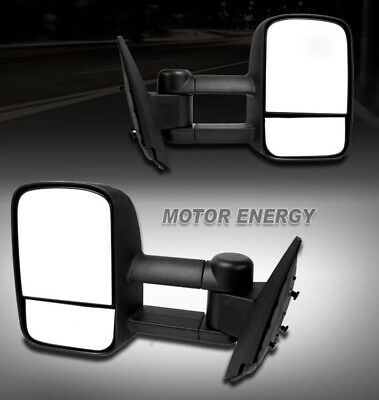 97-03 FORD F150/97-99 F250 LIGHT DUTY TOWING EXTENDABLE POWER SIDE MIRRORS PAIR