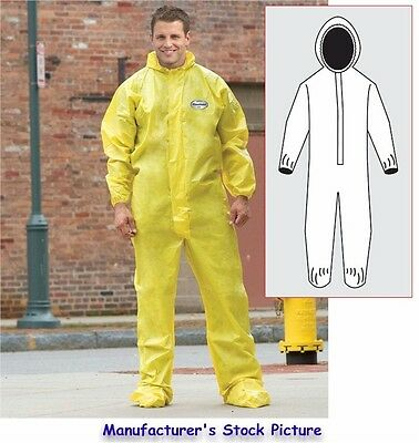 New Kleenguard A70 Chemical Protective Suitcovercoverall Large
