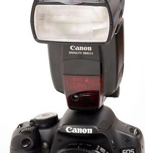Canon Speedlight 580EX II