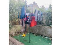 Rotary arm clothes line - FREE