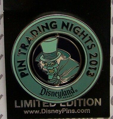 Disney Pin DLR Disney Pin Trading Night 2013 Hatbox Ghost