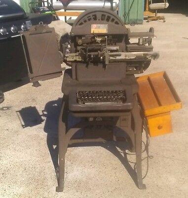 Ww2 Graphotype Stamping Machine Model 6383 Addressograph Multigraph