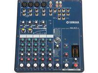 Yamaha mg 82cx pa mixer