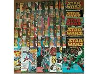 40 Star Wars Weekly Marvel Comics from 1978
